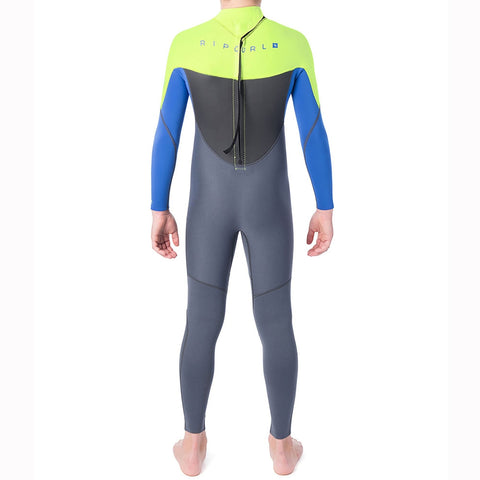 Rip Curl Junior Omega 5/3mm Back Zip Full Wetsuit
