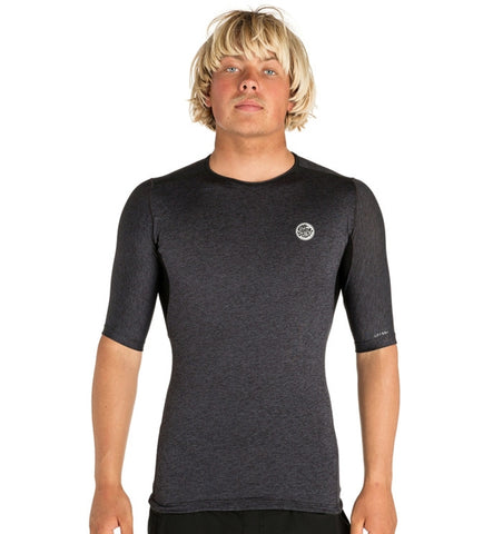 Rip Curl Tech Bomb Short Sleeved Rash Vest