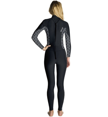 Rip Curl Womens Dawn Patrol 4/3 GB Back Zipped Full Wetsuit