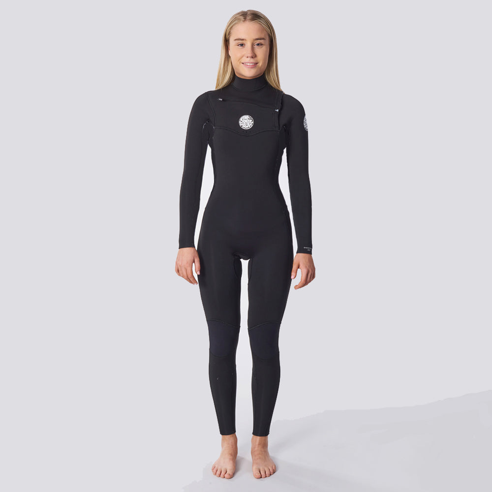 Rip Curl Womens Dawn Patrol Performance 3/2mm - Black