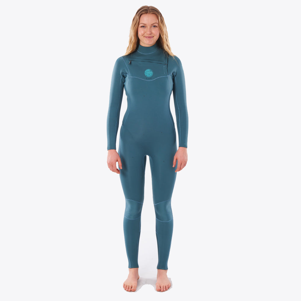 Rip Curl Womens Dawn Patrol Performance 3/2mm Green