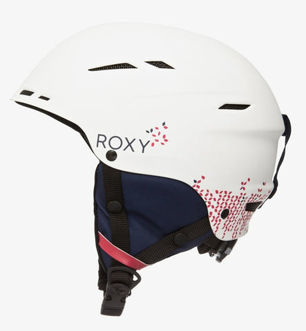 Roxy Alley Oop Ski/Snowboard Helmet - Bright White
