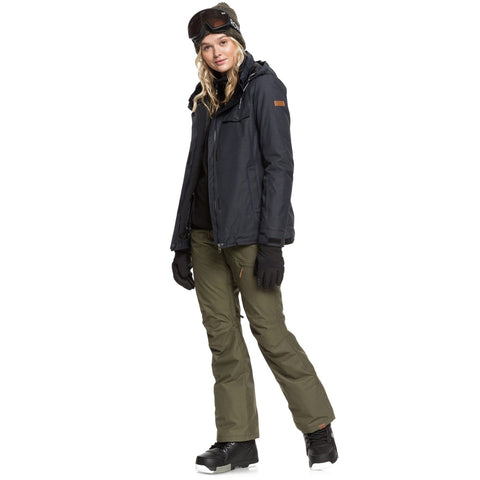 Roxy Billie Snowboard/Ski Jacket - True Black