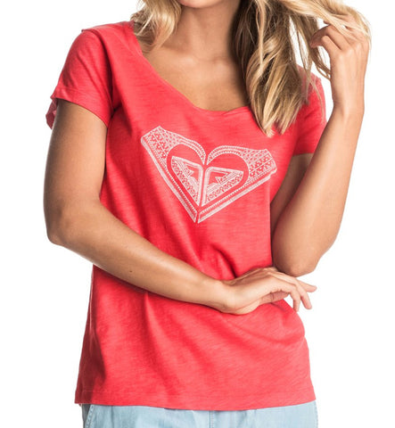 Roxy Bobby Twist Touch of Mex T-Shirt - Hibiscus