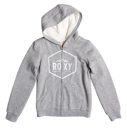 Roxy Girls Memorize Density Zip Up Hoodie