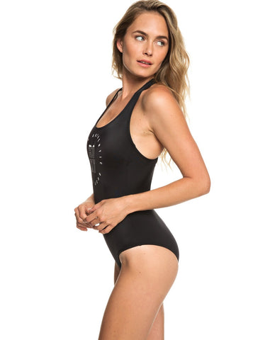 Roxy Roxy Fitness Basic One Piece Swimsuit
