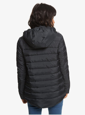 Roxy Rock Peak Padded Jacket - True Black