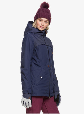 Roxy Stated Snowboard/Ski Jacket - Medieval Blue