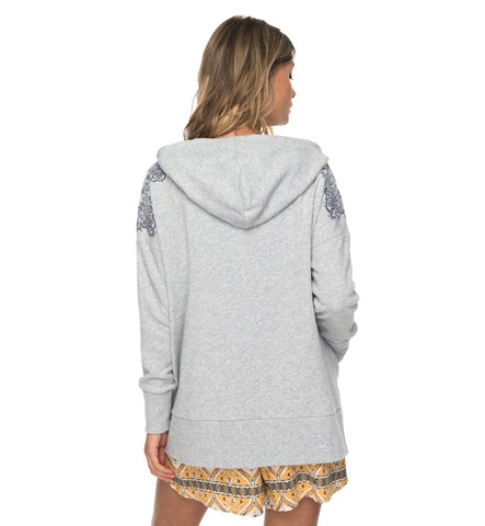 Roxy Adventure Way Zipped Hoodie