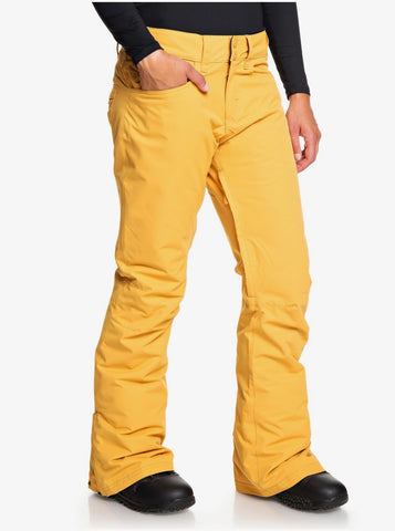Roxy Backyard Snowboard/Ski Pant - Spruce Yellow