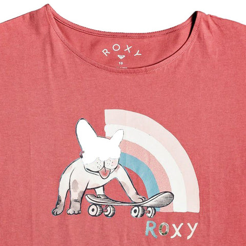 Roxy Girls Boyfriend Short Sleeved T Shirt