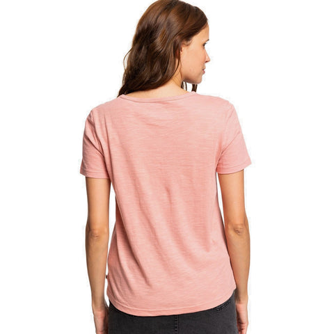 Roxy Red Sunset Corpo Short Sleeved T Shirt