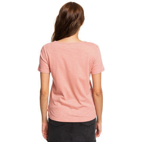 Roxy Red Sunset Short Sleeved T Shirt