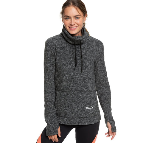 Roxy Snow Flakes Vibes Funnel Neck Fleece