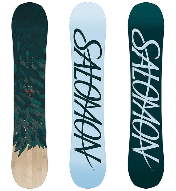Salomon Womens 144 Rumble Fish Snowboard