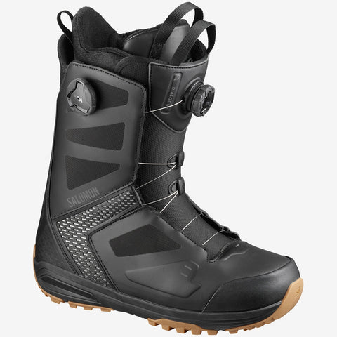 Salomon Dialogue Focus BOA Snowboard Boots - Black/Black/Grey
