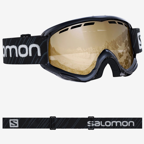 Salomon Junior Juke Access Snowboard/Ski Goggles - Black/Orange