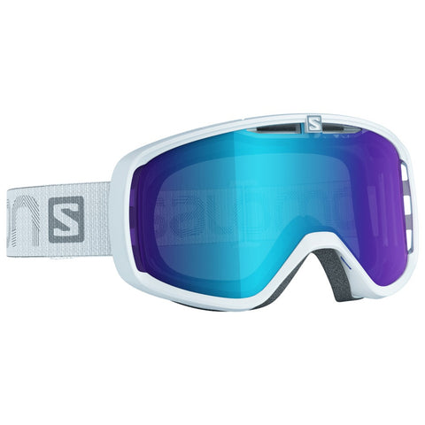 Salomon Photo XF Snowboard/Ski Goggles - White/AW Blue