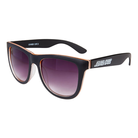 Santa Cruz Bench Sunglasses - Black/Orange