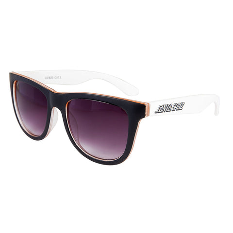 Santa Cruz Bench Sunglasses - White/Orange