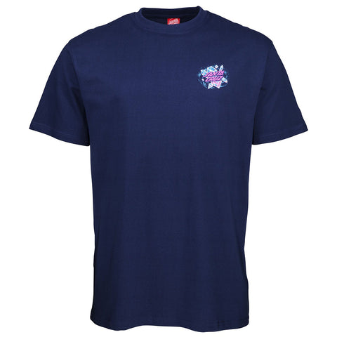 Santa Cruz Crystal Hand Short Sleeved T-Shirt