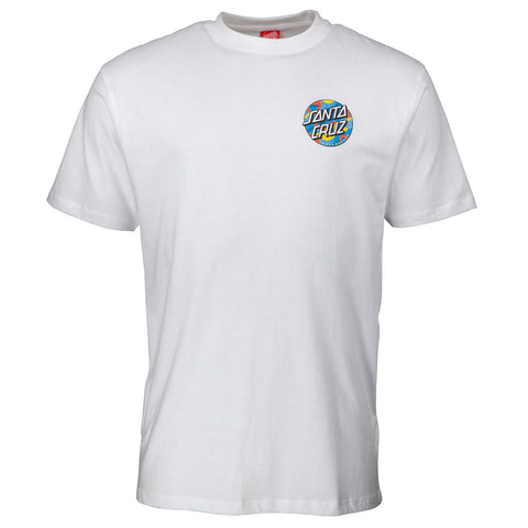 Santa Cruz Primary Dot Short Sleeved T-Shirt