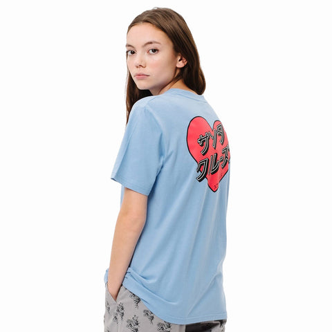 Santa Cruz Womens Japanese Heart T-Shirt