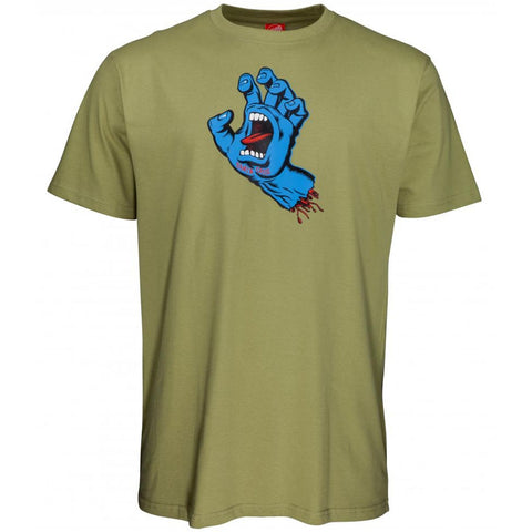 Santa Cruz Screaming Hand Short Sleeved T Shirt