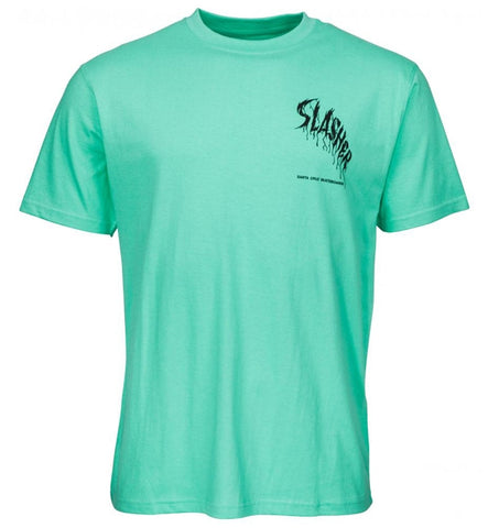 Santa Cruz Wave Slasher Short Sleeved T Shirt
