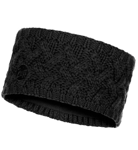 Buff Savva Black Knitted Headband
