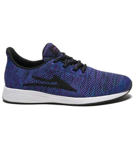 Lakai Evo Blue Purple Knit Shoes