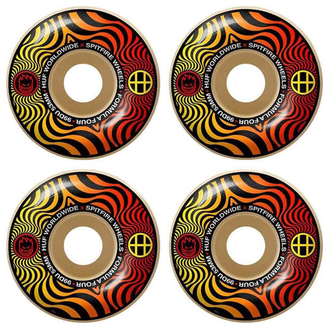 Spitfire Huf Swirl Classic 53mm Skateboard Wheels
