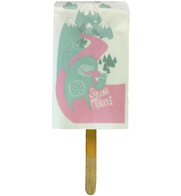 Square Melon Snowboard Wax Lolly