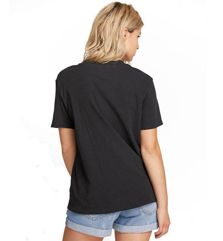 Volcom Womens Stone Slick Short Sleeved T Shirt