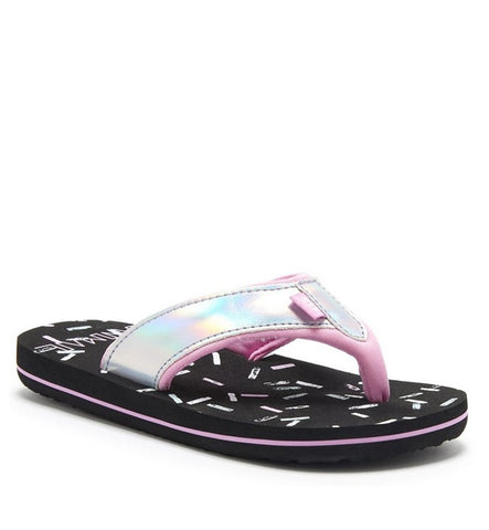 Animal Swish Glitz Girls Flip Flop