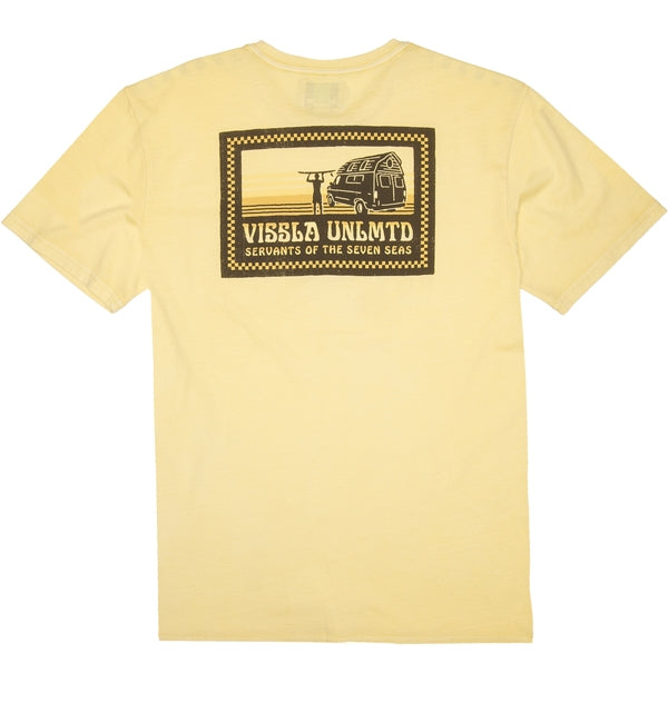 Vissla The Point Pocket Short Sleeved T Shirt