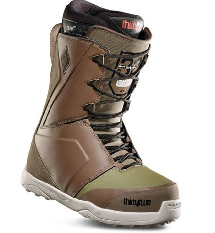Thirtytwo Lashed Bradshaw Snowboard Boots - Brown/Green