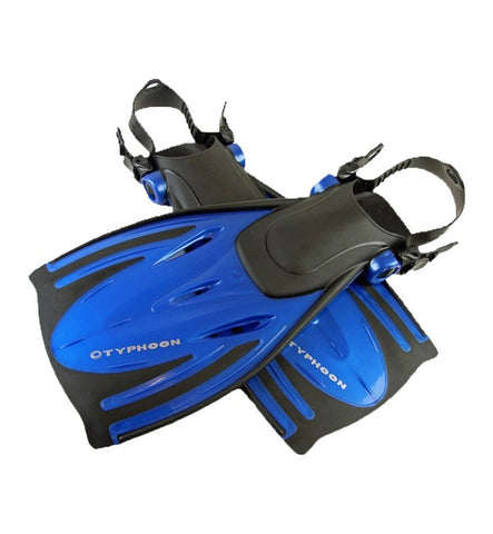 Typhoon T-Jet Adjustable Adult Fins