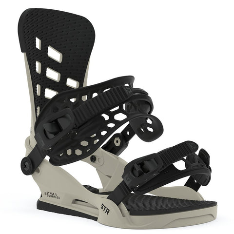 Union STR Snowboard Bindings - Bone