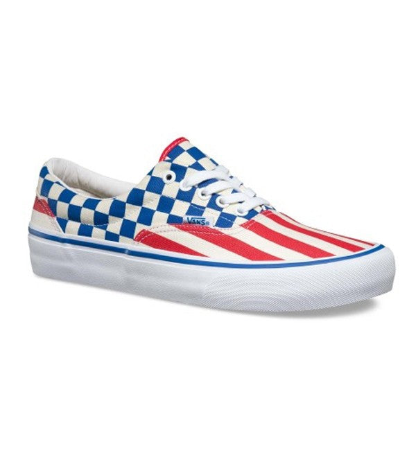Vans Era Pro '83 Stripes and Checkers 50th Anniversary Limited
