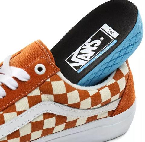 Vans Old Skool Pro Skate Shoes - Checkerboard