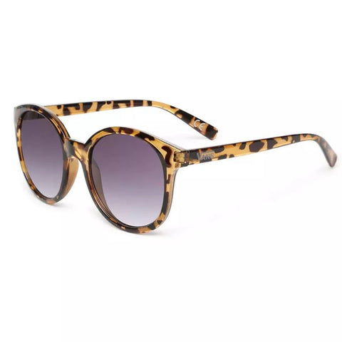 Vans Womens Rise And Shine Sunglasses - Tortoise/Gradient Smoke