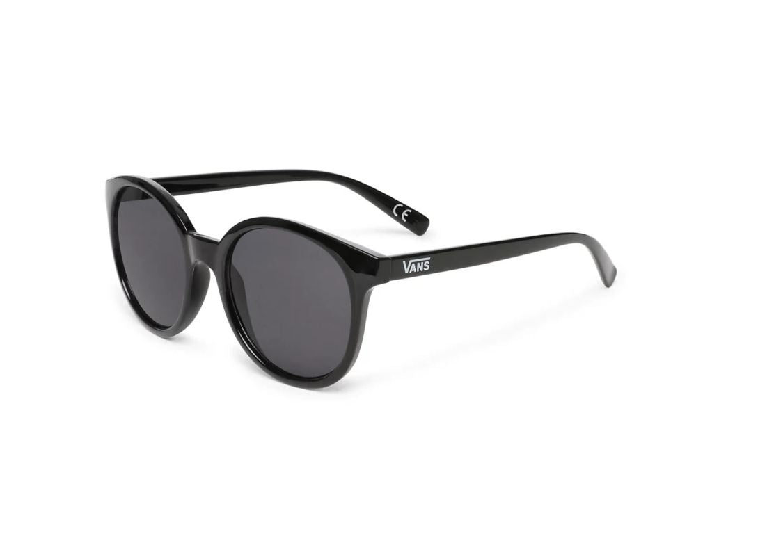 Vans Womens Rise And Shine Sunglasses - Black/Smoke Lens