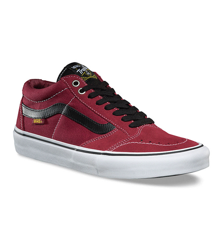 Vans TNT SG Tibetan Red Skate Shoes