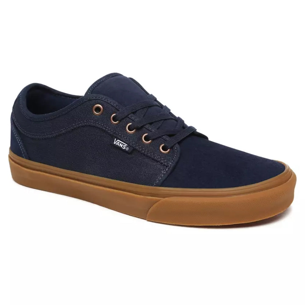 Vans Chukka Low Trainers - Dress Blues/Gum