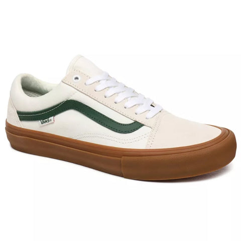 Vans Old Skool Pro Trainers - Marshmallow/Alpine