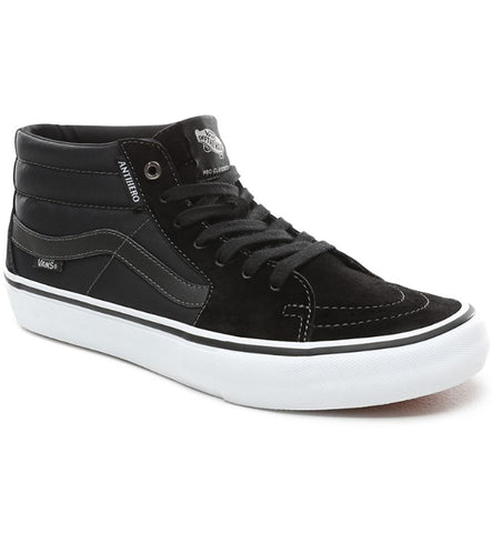Vans Sk8 Mid Pro Skate Shoes - Grosso/Black