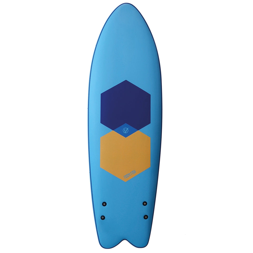 Vision Hand Shape XPS Foam Fish - 5'11
