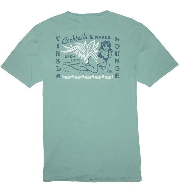 Vissla Open Late Short Sleeved T Shirt
