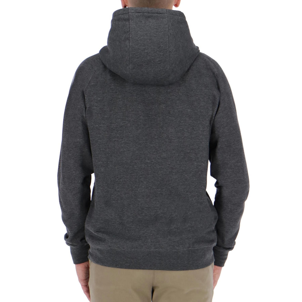Volcom Timesoft Heather Zip Hooded Sweatshirt